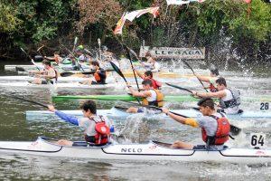 Competencia de canotaje - Club Náutico El Timón
